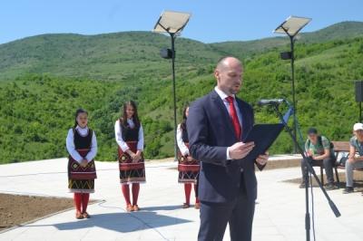 113-годишнината смртта  на Никола Карев одбележана на новото спомен-обележје во Свиланово