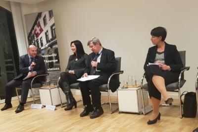 Zëvendësministri i vetëqeverisjes lokale Pavleski në forumin rajonal në Bruksel