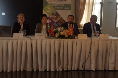 Ministri Fazliu në Strumicë hapi Ditën informative për aplikantët potencial për projekte për bashkëpunim ndërkufitar me Bullgarinë