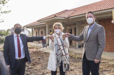 Милевски: со доградбата на старечкиот дом во Берово на старите лица го унапредуваме квалитетот на животот