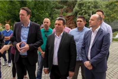 Ministri i vetëqeverisjes lokale Goran Milevski në rajonin e planifikimit të Shkupit: Zhvillimi i balancuar i vendit është një prioritet, veçanërisht zhvillimi i vendbanimeve rurale