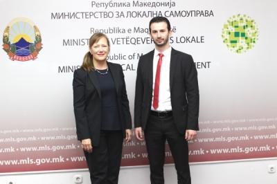 Министерот Фазлиу се сретна амбасадорката Суомалаинен