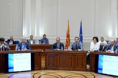 U nënshkruan marrëveshjet për projekte për bashkëpunim ndërkufitar midis Republikës së Maqedonisë dhe Greqisë