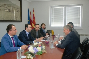 Minister of Local Self-Government Suhejl Fazliu visited the Municipality of Kocani