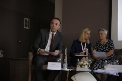 Министерот за локална самоуправа Милевски на Конференција за предизвиците на рамномерниот регионален развој