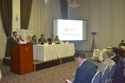 Министерот за локална самоуправа Сухејл Фазлиу на Генералното собрание на ЗЕЛС
