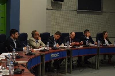 Заменик министерот Павлески со претставници на македонската дијаспора
