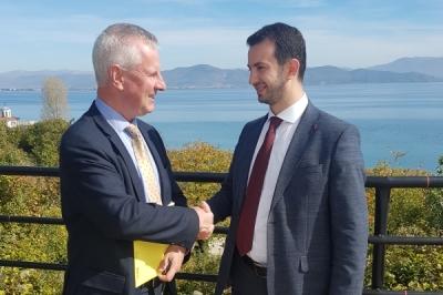 Ministri Suhejl pati  takim me drejtorin e departamentit të zhvillimit rajonal të vendeve të Ballkanit Perëndimor: Republika e Maqedonisë do të shfrytëzoj çdo mundësi në procesin e Eurointegrimit