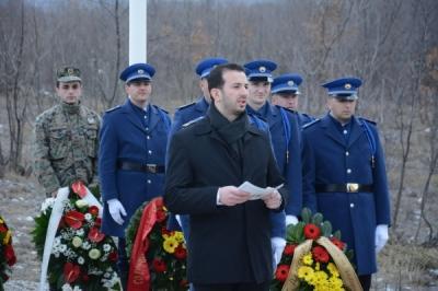 Министерот Фазлиу на одбележувањето на 15-годишнината од смртта на Претседателот Борис Трајковски во Ротмиље, Босна и Херцеговина