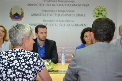 Министерот Фазлиу се сретна со швајцарската амбасадорка Сибил Сутер Тејада