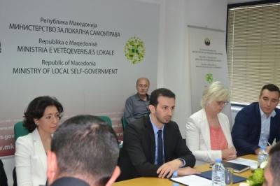 Министерот Фазлиу со делегација од ерменското министерство за територијална администрација и развој