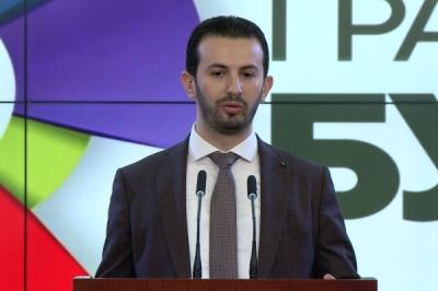 Прес конференција на министерот за локална самоуправа Сухејл Фазлиу за предлог буџетот на Министерството за 2018 година