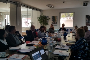 First Meeting of the Steering Committee of the project: Improvement of the municipal management