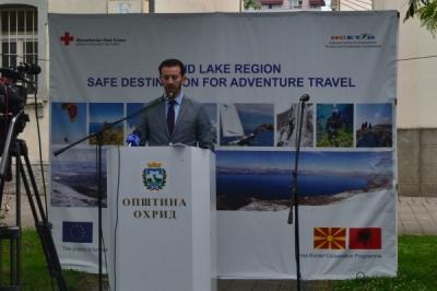 Нови 415 илјади евра од Европската Унија и од Министерството за локална самоуправа за поддршка на туризмот на Охридскотото Езеро