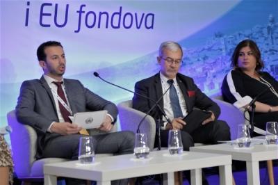 """Ministri për  vetëqeverisje lokale në Konferencën """"Ditët e zhvillimit rajonal dhe fondet e BE-së"""""""