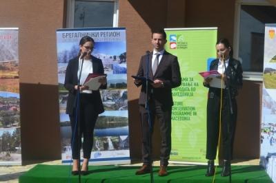 """Ministri i vetëqeverisjes lokale Suhejl Fazliu mori pjesë në hapjen e Info Qendrës Turistike """"Ponikva"""""""