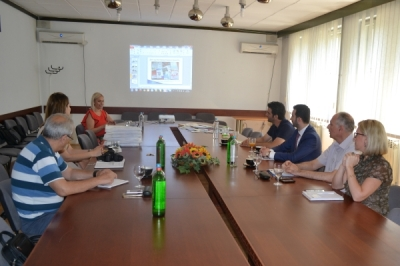 Работна посета на министерот Фазлиу на Центарот за развој на Југоисточниот плански регион