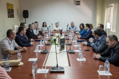 Потпишан Протокол за соработка меѓу општина Валандово и српската општина Лазаревац
