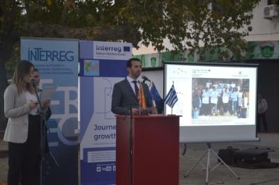 Со учество на претставници од надлежните институции на Република Македонија и на Грција во Дојран одбележан Европскиот ден на соработка
