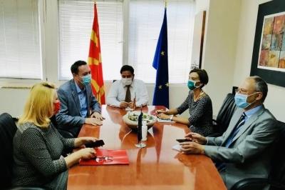 Милевски на средба со Бенгтсон:  Република Северна Македонија има потенцијал за развој на туризмот