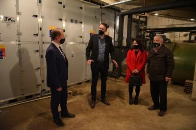Милевски: По 30 години во Домот на културата во Св. Николе се постави инсталација на систем за греење и ладење