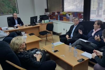 Средба со заменик министерот за локална самоуправа