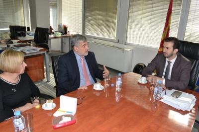 Состанок со амбасадорот на Полска