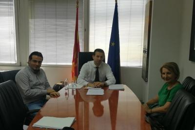 Фазлиу се сретна со градоначалничката на Тетово г-ѓа Теута Арифи