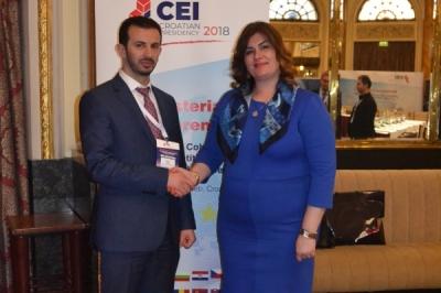 """Министерот за локална самоуправа Сухејл Фазлиу на министерска конференција во Загреб: """"Поттикнување на кохезијата и конкурентноста преку регионална соработка"""""""