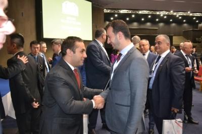 Министерот за локална самоуправа Сухејл Фазлиу на состанок на Асоцијацијата на локални и регионални власти на земјите од Централна и Источна Европа и од Кина (16+1).