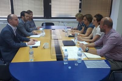 Работен состанок на министерот Фазлиу со претставничката на УНДП, Винтон