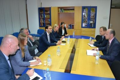 Средба со претставниците на Фондацијата Фридрих Еберт