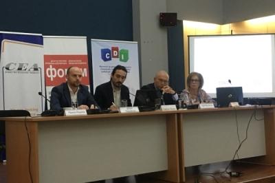 Заменикот министер за локална самоуправа Дејан Павлески во Велес на форум
