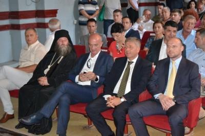 Заменикот министер за локална самоуправа Дејан Павлески во Кочани