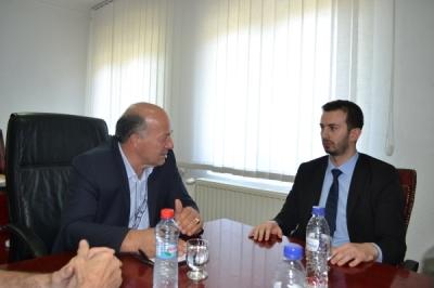 Министерот Фазлиу во посета на општина Липково