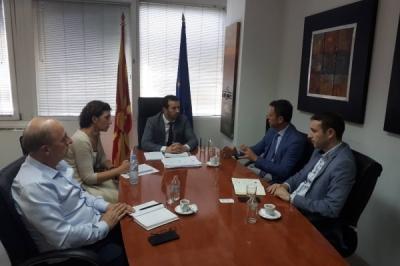 Министерот Сухејл Фазлиу се сретна со претседателот на СКСЗМ, Неби Хоџa
