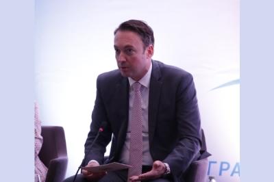 """Министерот за локална самоуправа Горан Милевски на отворањето на манифестацијата """"Креирање на заедничка иднина"""" во Охрид"""