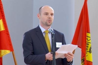 Заменикот министер Дејан Павлески во општина Куманово