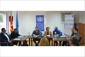 Press conference by the Minister of Local Self-Government and the UNDP Resident Representative