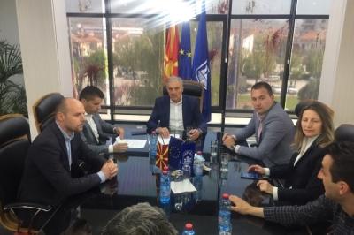 Заменикот министер за локална самоуправа Дејан Павлески во посета на општина Прилеп