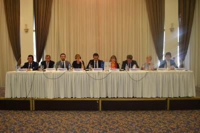 Министерот за локална самоуправа Фазлиу на состанок на Заедничкиот консултативен комитет на Република Македонија и Европската Унија