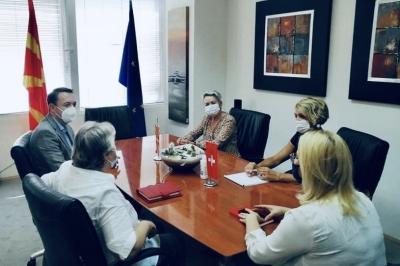 Милевски и Зутер ја продолжуваат соработката меѓу Северна Македонија и Швајцарија