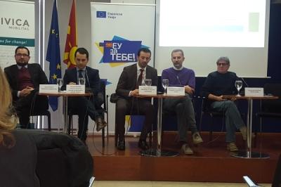 """Министерот за локална самоуправа, Сухејл Фазлиу на Конференција """"Вмрежување и застапување на месните и урбаните заедници – Предизвиците и препраките за во иднина"""""""