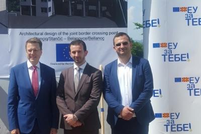 Означен почетокот на изградбата на граничниот премин Белановце-Станчиќ