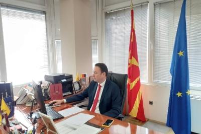 Милевски: Продолжуваме посветено да работиме на градење на мостови на соработка и развој на регионот