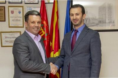 Ministri për vetëqeverisje lokale Suhejl Fazliu u takua me kryetarin e Gazi Babës, Boris Georgievski