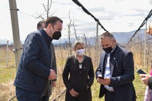 Eleven agrometeorological stations in the Pelagonian region