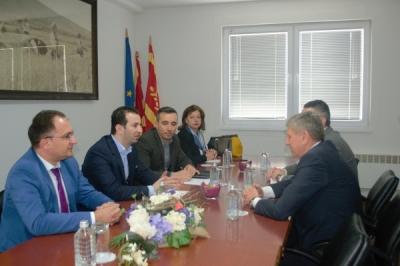 Министерот за локална самоуправа Сухејл Фазлиу во посета на општина Кочани