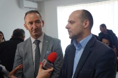Заменикот министер за локална самоуправа Павлески во посета на општина Кривогаштани