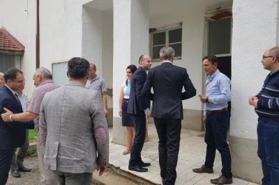 Заменик министерот Павлески во општина Долнени